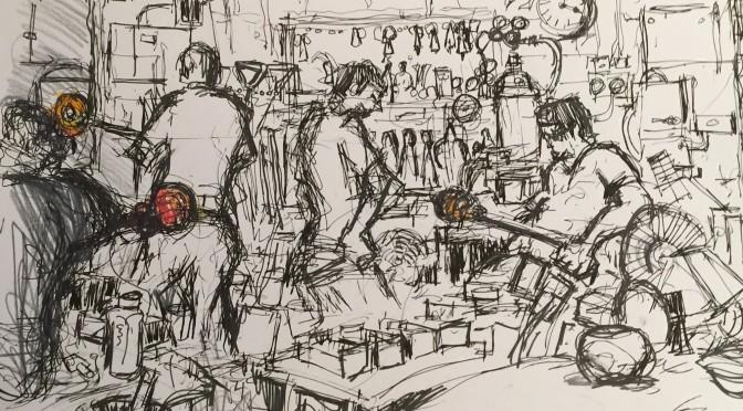 Mar 2016: Glass Blowers, Bermondsey (John Crane)